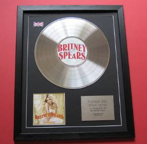 BRITNEY SPEARS - Circus CD / PLATINUM PRESENTATION DISC